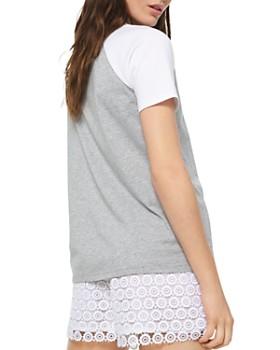MICHAEL Michael Kors - Logo Cotton Baseball Tee