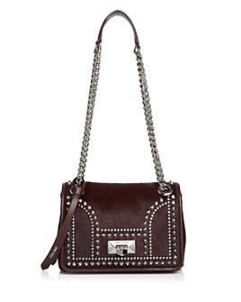 Jimmy Choo - Helia Small Studded Convertible Shoulder Bag
