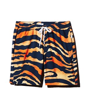 Onia - Charles Animal Spray-Print Swim Trunks - 100% Exclusive