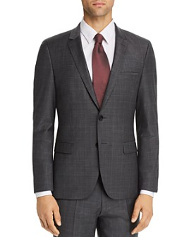 HUGO - Arti Glen Plaid Extra Slim Fit Suit Jacket