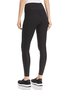Lyssé - Coated Cotton Stretch Leggings