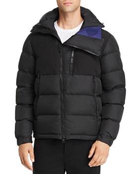 Moncler - Laveda Mixed-Media Down Jacket