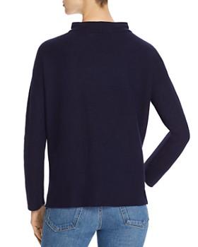 Eileen Fisher - Drawstring Funnel-Neck Sweater