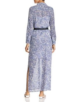 MICHAEL Michael Kors - Coral Mosaic-Print Maxi Dress
