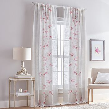 "Peri Home - Michiko Rod Pocket Curtain Panel, 50"" x 108"""