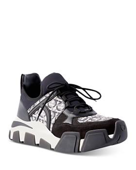 Salvatore Ferragamo - Women's Gancini Low Top Sneakers
