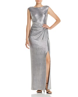 Ralph Lauren - Draped Metallic Gown
