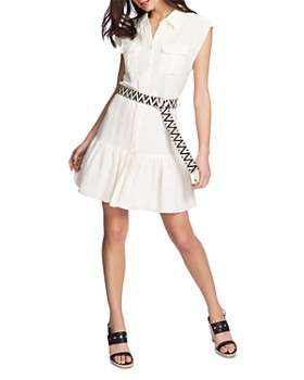 1.STATE - Belted Shirt Dress