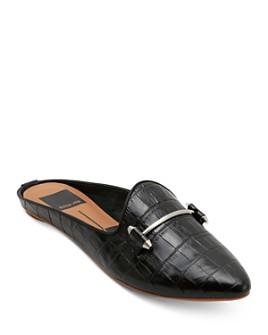 Dolce Vita - Women's Gram Embossed Leather Mules