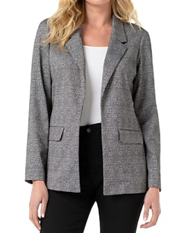 Liverpool Los Angeles - Plaid Boyfriend Blazer