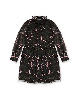 Armani - Printed Creponne Dress - Little Kid, Big Kid