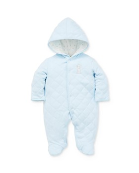 Little Me - Boys' Puppy Hooded Footie - Baby