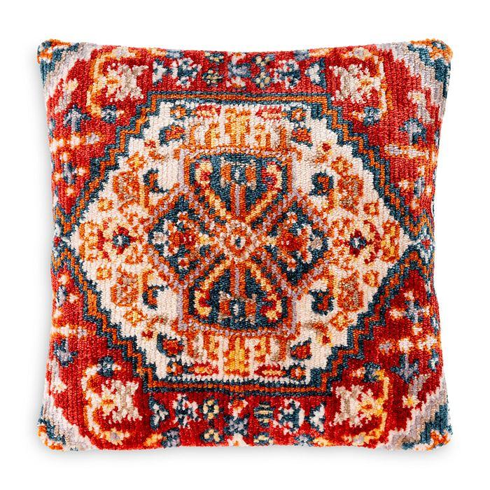 Surya Savona Burnt Orange Throw Pillow
