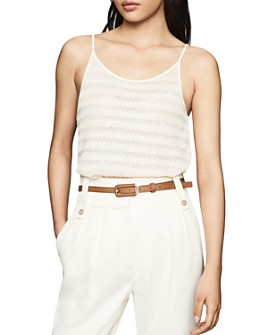 REISS - Ghita Knit Camisole Top