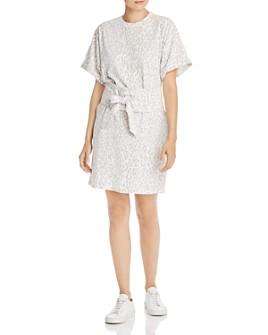 Rebecca Minkoff - Marta Leopard-Print Cotton Mini Dress