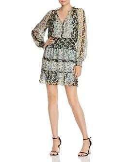 Parker - Silk Floral-Print Dress