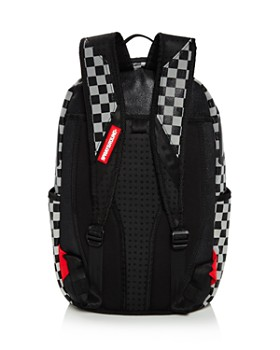 Sprayground - Boys' Checkered Shark Backpack