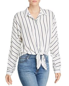 Bella Dahl - Dolman-Sleeve Tie-Front Shirt