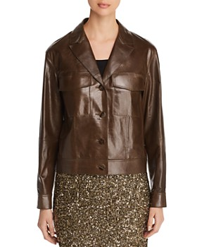 Lafayette 148 New York - Theodosia Lightweight Leather Jacket