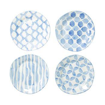 VIETRI - Modello Assorted Salad Plates - Set of 4