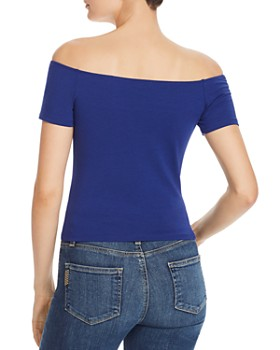GUESS - Jayla Off-the-Shoulder Top