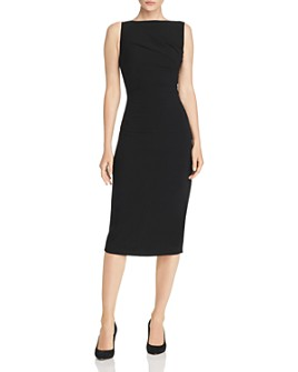 Narciso Rodriguez - Ruched Crepe Midi Dress