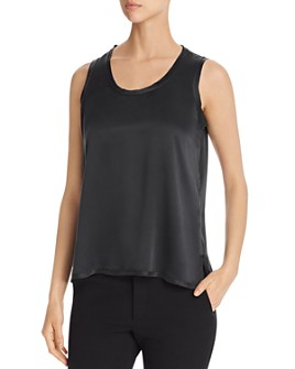 Go by Go Silk - Raw-Edge Tank