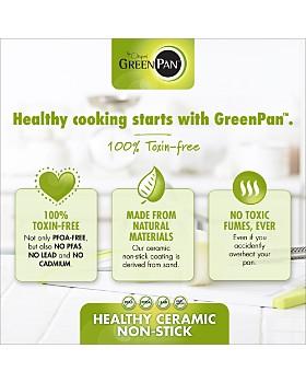 """GreenPan - Valencia Pro 11"""" Ceramic Nonstick Grill Pan"""