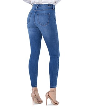 Liverpool - Abby Skinny Jeans in Laine Navy