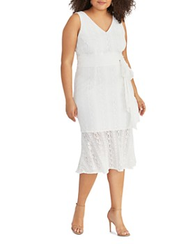 Rachel Roy Plus - Josephine Lace Midi Dress