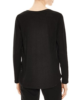 Sandro - Solune Lace-Inset Top
