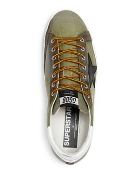 Golden Goose Deluxe Brand - Men's Superstar Canvas Sneakers - 100% Exclusive