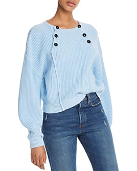 Rebecca Minkoff - Natalie Front-Button Sweater