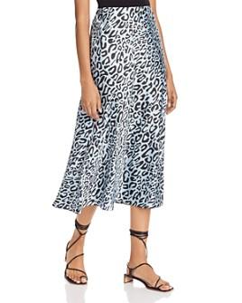 Rebecca Minkoff - Davis Leopard-Print Midi Skirt