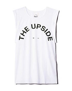THE UPSIDE - Mesh Logo Tank - 100% Exclusive