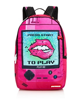 Sprayground - Girls' Press Start Lips Backpack