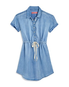 BLANKNYC - Girls' Chambray Dress - Big Kid