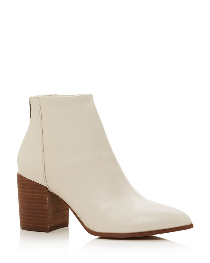 AQUA - Women's Dante Pointed Toe Leather Booties - 100% Exclusive