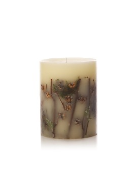 "Rosy Rings - Forest - 6.5"" Round Candle"