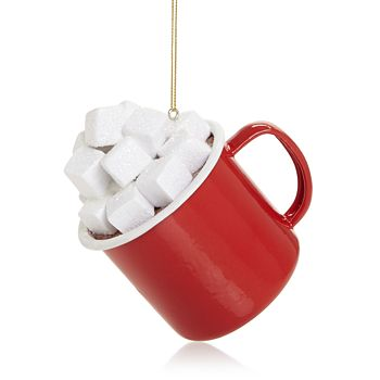 Bloomingdale's - Hot Chocolate Mug Ornament - 100% Exclusive