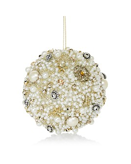 Bloomingdale's - Beaded Ball Ornament - 100% Exclusive