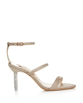 Sophia Webster - Women's Rosalind 85 Strappy Glitter High-Heel Sandals