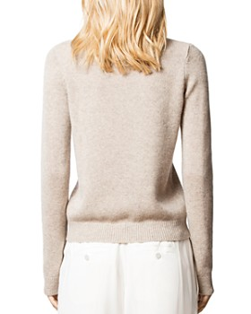 Zadig & Voltaire - Delly Cashmere Amour Sweater