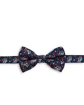 Ted Baker - Farmbow Mini-Floral Silk Bow Tie