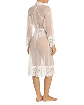 In Bloom by Jonquil - Sheer Mesh and Lace Robe