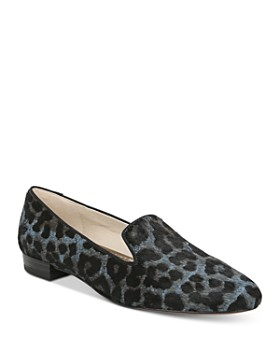 Sam Edelman - Women's Jordy Animal-Print Loafers