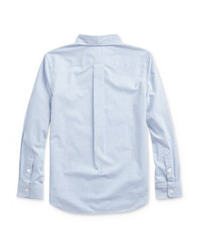Ralph Lauren -  Boys' Plaid Button-Down Shirt - Big Kid