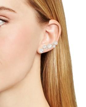 BAUBLEBAR - Soraida Simulated Pearl Ear Climbers