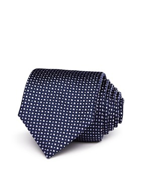 BOSS - Tossed Dot Classic Tie