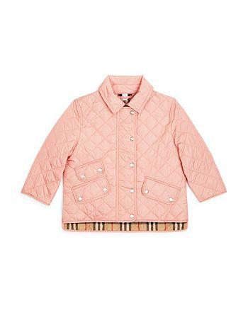 Burberry - Girls' Brennan Quilted Jacket - Little Kid, Big Kid